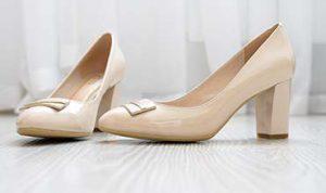 women's beige pumps